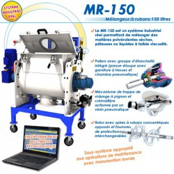 """MR-150"" MELANGEUR INDUSTRIEL A RUBANS"