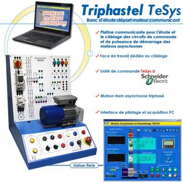 """""""TRIPHASTEL THESYS"""" PLATINE COMMUNICANTE DEPART MOTEUR"""