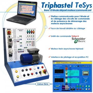 """TRIPHASTEL TESYS"" PLATINE COMMUNICANTE DEPART MOTEUR"