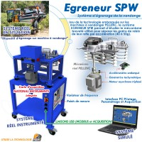 """""""EGRENEUR SPW"""" SYSTEME D'EGRENAGE DE LA VENDANGE"""