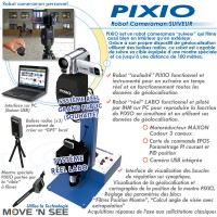 """PIXIO"" ROBOT CAMERAMAN SUIVEUR"