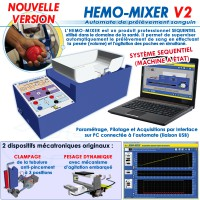 """HEMO-MIXER V2"" AUTOMATE DE PRELEVEMENTS SANGUINS NOUVELLE VERSION"