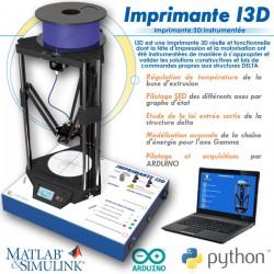 """""""I3D"""" IMPRIMANTE 3D INSTRUMENTÉE"""