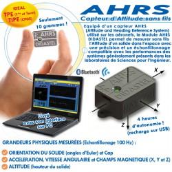 """""""AHRS"""" CAPTEUR D'ATTITUDE SANS FILS"""