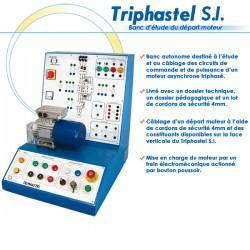 """TRIPHASTEL S.I."" PLATINE D'ETUDE DEPART MOTEUR"