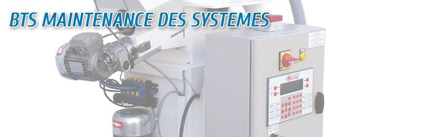 BTS Maintenance des Systèmes